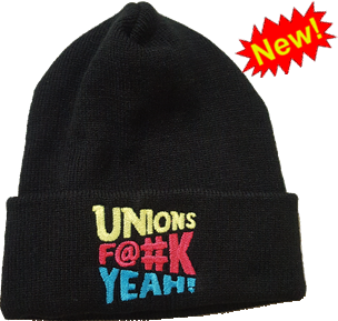 Unions Yeah! watch cap (toque)
